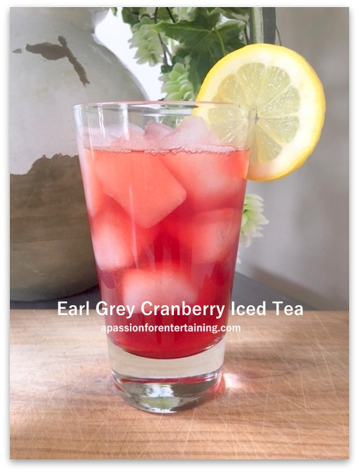 Earl Grey Cranberry Iced Tea