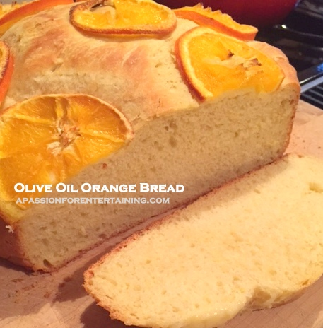 olive oil orange bread