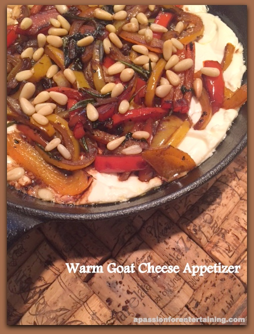 warm goat cheese appetizer