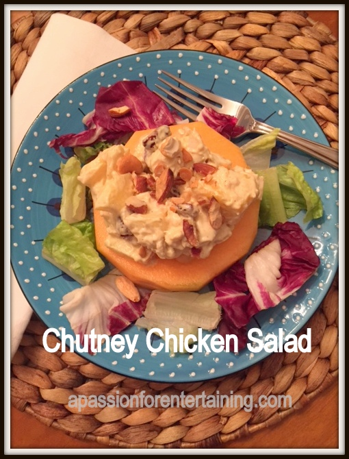 chutney chicken salad