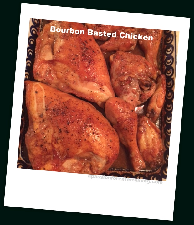 bourbon basted chicken