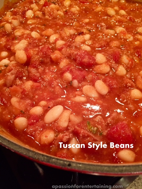 tuscan style beans
