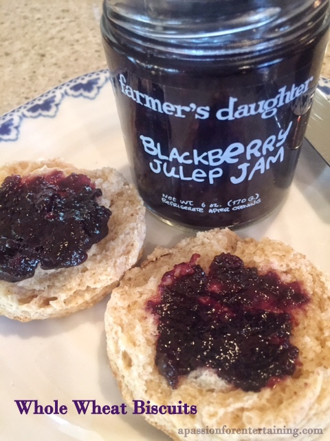 ... Farmer's Daughter Jams and Preserves and Whole Wheat Biscuit Recipe